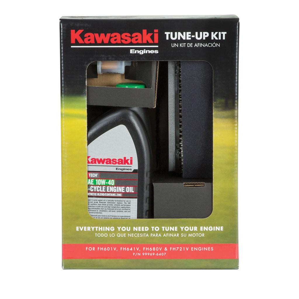 KAWASAKI SERVICE KIT 10W40 FH601V FH641V FH680V FH721V STD AIR FILTER