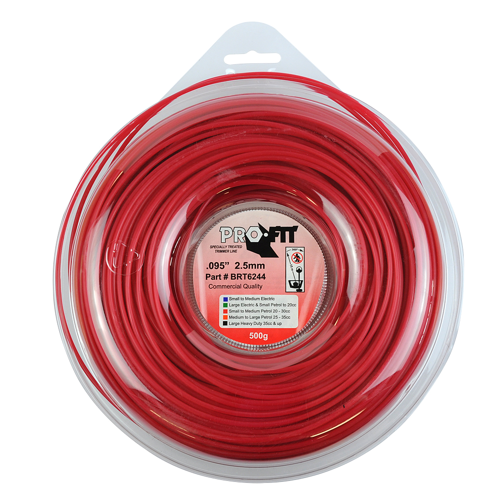 PRO FIT TRIMMER LINE RED .095